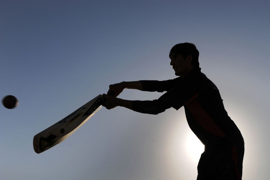 L'Inde se passionne pour le cricket.... (Photo: AFP)