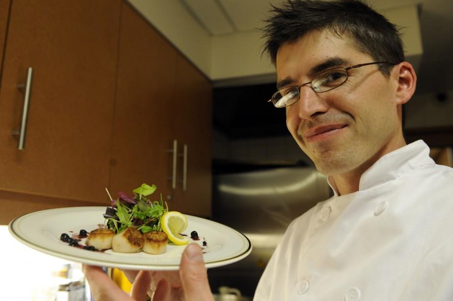 Paul Hachey, chef propriétaire du Café de La... (Photo: Bernard Brault, La Presse)
