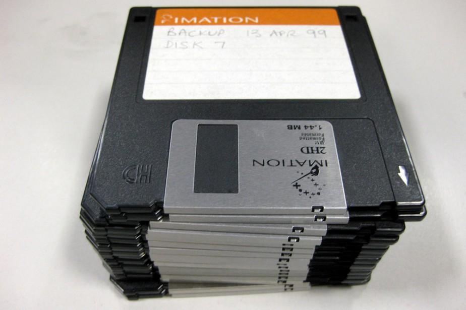 Des disquettes... (Photo: Flickr, suburbanslice)