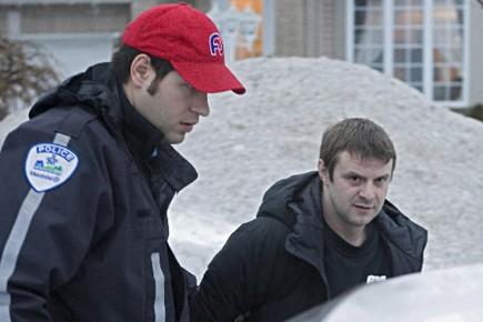 Arrestation de Jean Lavertue le 12 février 2009,... (Photo d'archives Ivanoh Demers, La Presse)