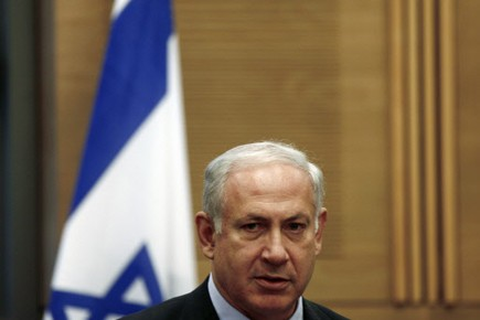 Le premier ministre israélien Benjamin Nétanyahou.... (Photo Reuters)