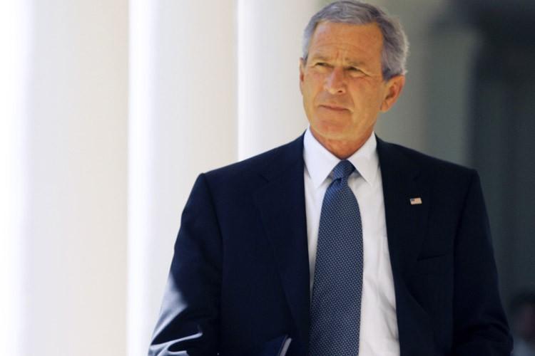 L'ancien président américain George W. Bush publiera en... (Photo: Reuters)