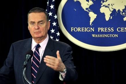 Le général James Jones, conseiller du président américain... (Photo AFP)