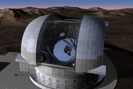 L'E-ELT («European Extremely Large Telescope» en anglais) aura... (Image ESO)