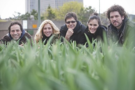 Le groupe Wop Pow Wow.... (Photo Ivanoh Demers, La Presse)