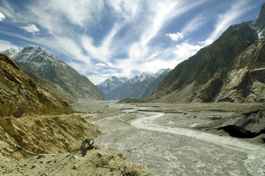Près de 100 hauts sommets himalayens de la région du Ladakh,... (Photo: Reuters)