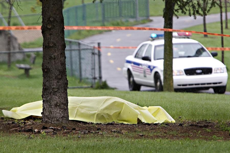 Le corps d'un sexagénaire a été retrouvé dans... (Photo: Patrick Sanfaçon, La Presse)