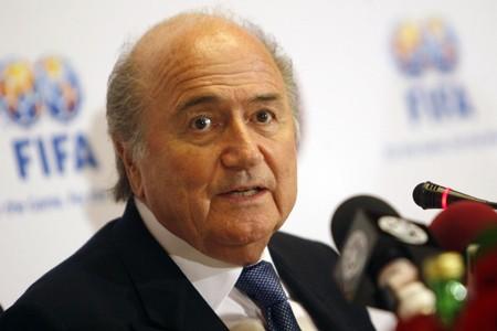 Le président de la FIFA, Sepp Blatter... (Photo: AFP)
