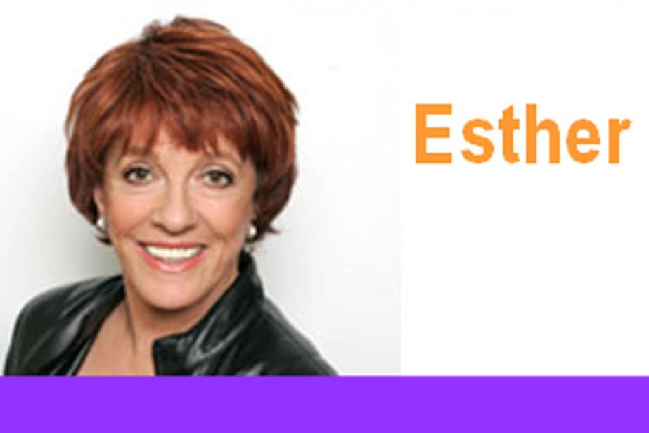 Esther Rantzen parcourt avec une énergie étonnante la... (Photo: site officiel d'Esther Rantzen)