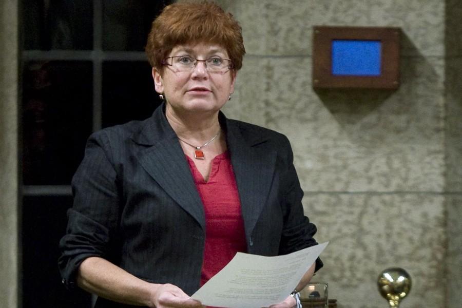 La députée néo-démocrate Judy Wasylycia-Leis.... (Photo: Archives PC)