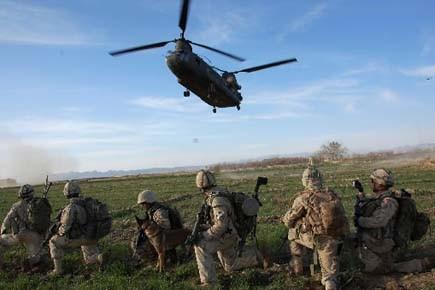Les troupes canadiennes dans le secteur de Zhari... (Photo: Murray Brewster, archives PC)