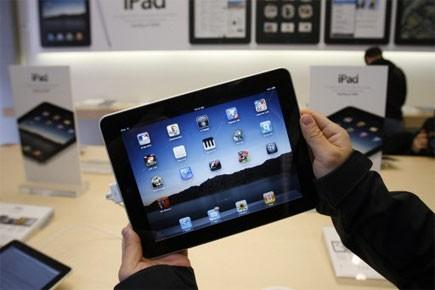 L'iPad sauvera-t-il les magazines? C'est ce que prétend Josh... (Photo: AP)