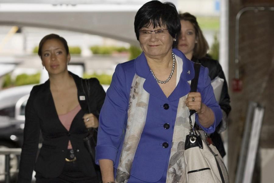 La ministre canadienne de la Coopération internationale, Bev... (Photo: PC)