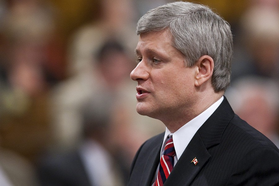 Stephen Harper promet de faire de ce «danger... (Photo: PC)