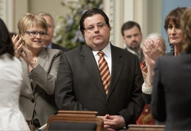 Le ministre de la Famille Tony Tomassi photographié... (La Presse Canadienne)