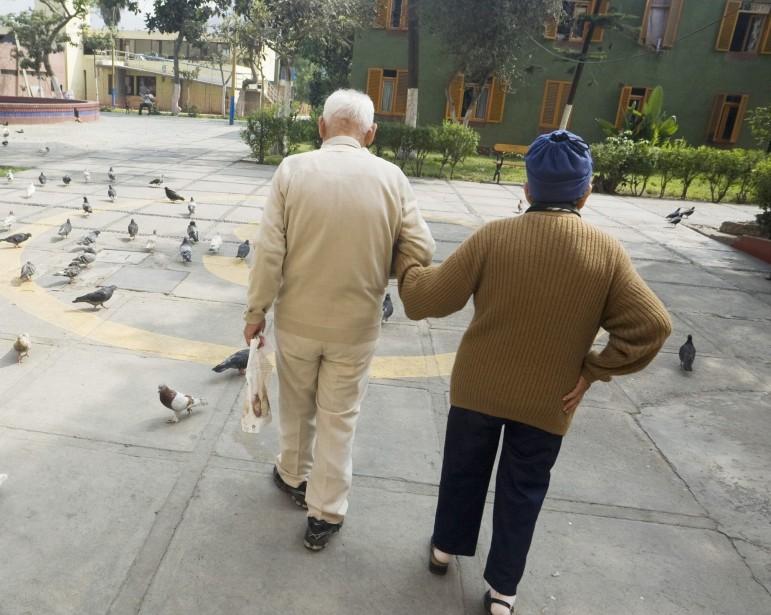 On croit à tort que les personnes âgées... (Photo: Enrique Castro-Mendivil, Reuters)
