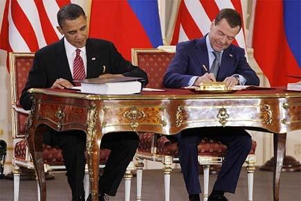Le président américain Barack Obama et son homologue... (Photo: Reuters)