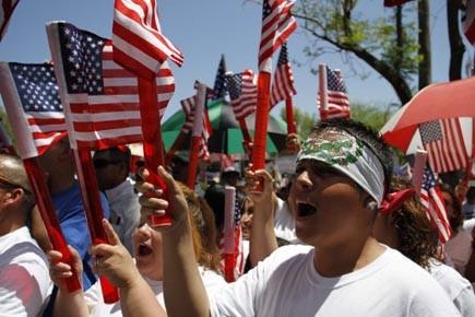 De nombreuses manifestations ont eu lieu à Phoenix... (Photo: Joshua Lott, reuters)