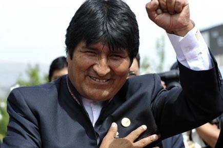 Le président bolivien Evo Morales.... (Photo: AIZAR RALDES, afp)