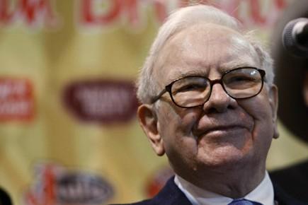 Warren Buffett.... (Photo Reuters)