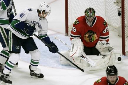Roberto Luongo a effectué 36 arrêts et les Canucks de... (Photo: Reuters)