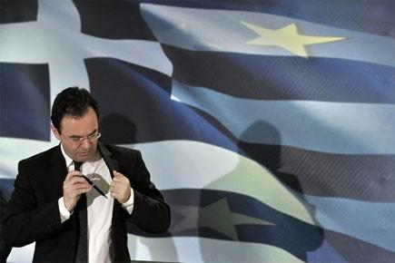 Le ministre grec des Finances Georges Papaconstantinou... (Photo: AFP)