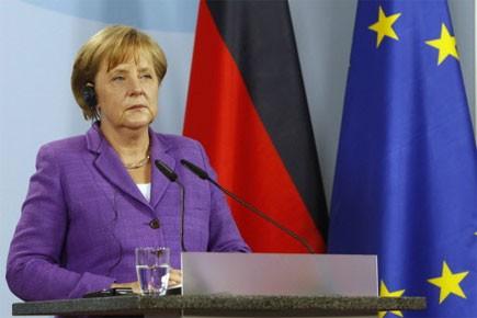 La chancelière allemande Angela Merkel... (Photo: Reuters)