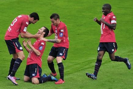 Les joueurs de Lille.... (Photo AFP)