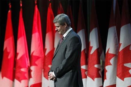 Stephen Harper a promis huit étapes pour régler... (Photo: Reuters)
