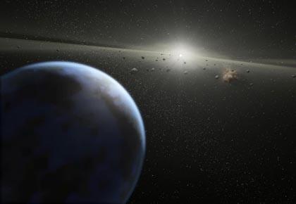La vie sur Terre pourrait avoir son origine... (Photo: afp)