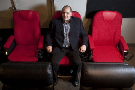 L'entreprise D-Box ne manque pas d'ambition: elle souhaite... (Photo: Ivanoh Demers, La Presse)