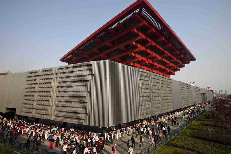 Le pavillon de la Chine est un monument... (Photo: AP)