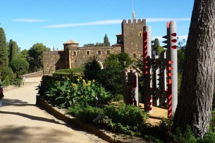 Dans le jardin de Cap Roig, sur la... (Photo: Pierre Gingras, La Presse)