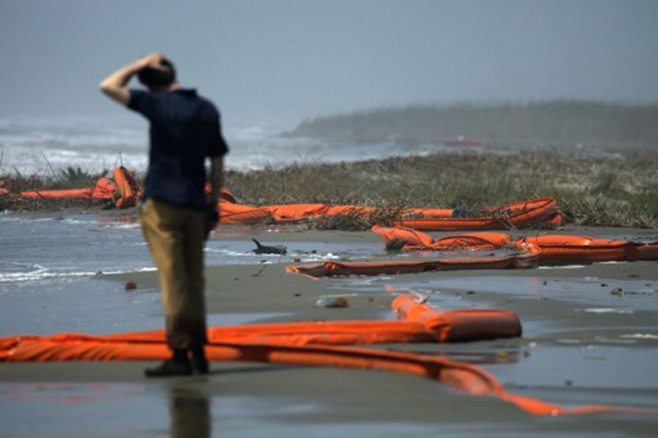 Le nettoyage de la marée noire prendra des... (Photo: Reuters)