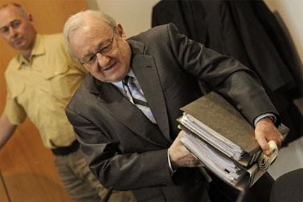 Karlheinz Schreiber... (Photo: AFP)