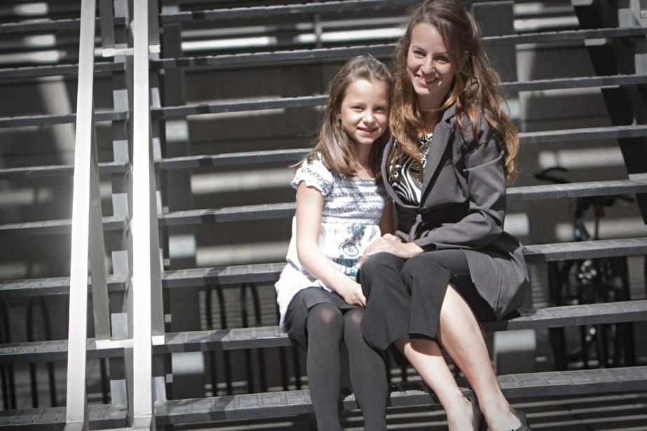L'an dernier, Stéphanie-Ann Pasieka, 10 ans, s'est fait... (Photo: Ivanoh Demers, La Presse)