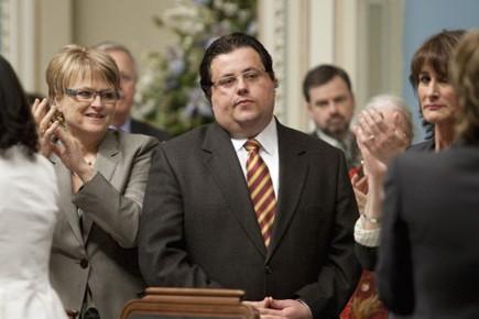 Le ministre de la Famille Tony Tomassi croqué... (pHOTO pC)