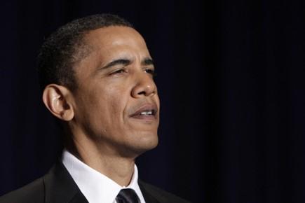Le Président Obama a prolongé les sanctions mises... (Photo AFP)