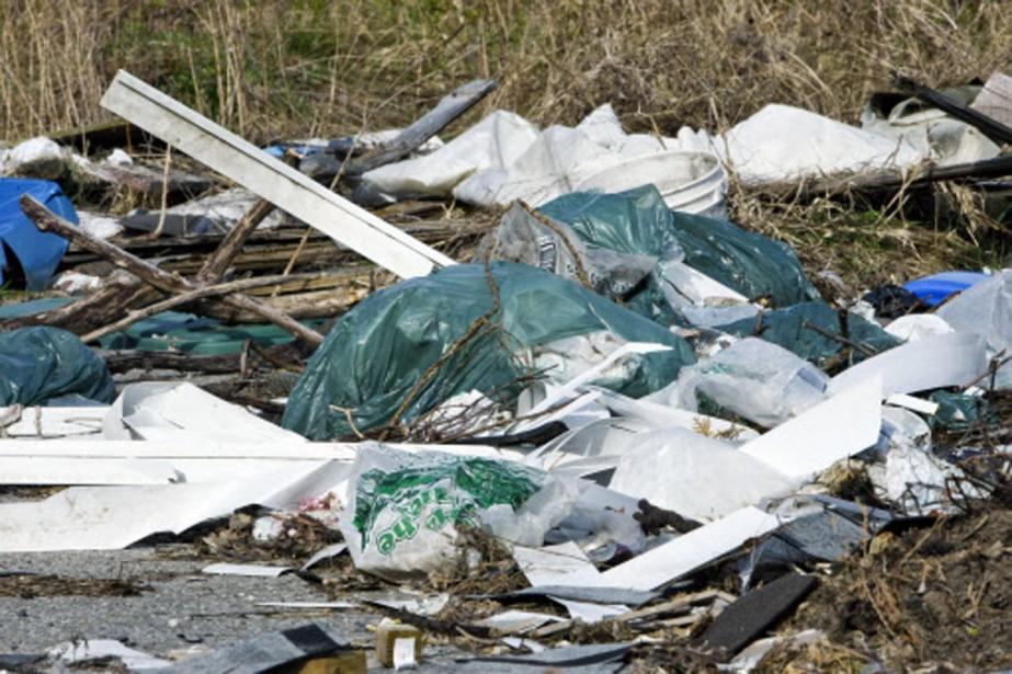 La privatisation de la gestion du dépotoir de Lachute... (Photothèque La Presse)