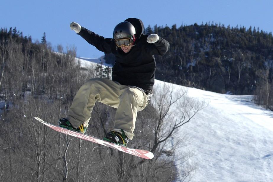 L'hiver a été généreux pour les stations de ski... (Photo: La Tribune)