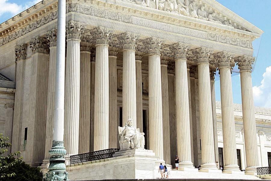 La Cour suprême des États-Unis.... (Photo: Archives AFP)