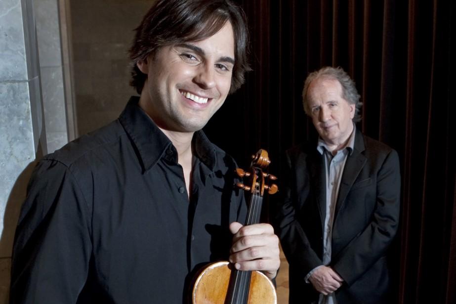 Le violoniste Marc-André Gautier... (Photo: Robert Skinner, La Presse)