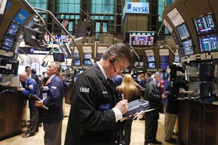 La Bourse de New York a subi mardi sa plus forte baisse en... (Photo: Reuters)