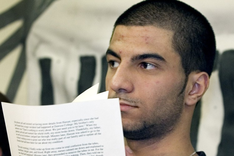Hayder Kadhim, un survivant de la fusillade du... (Photo: PC)