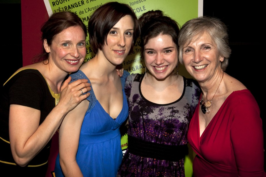 Lynda Johnson, Sylvianne Rivest-Beauséjour, Marie-Ève Milot et Muriel... (Photo: Robert Skinner, La Presse)