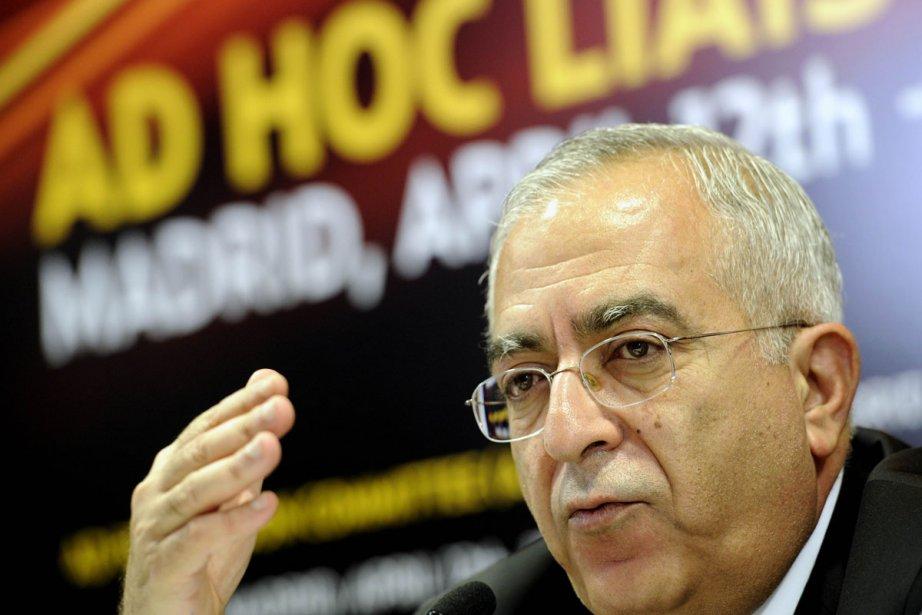 Salam Fayyad s'est fixé pour objectif de bâtir... (Photo: archives AFP)