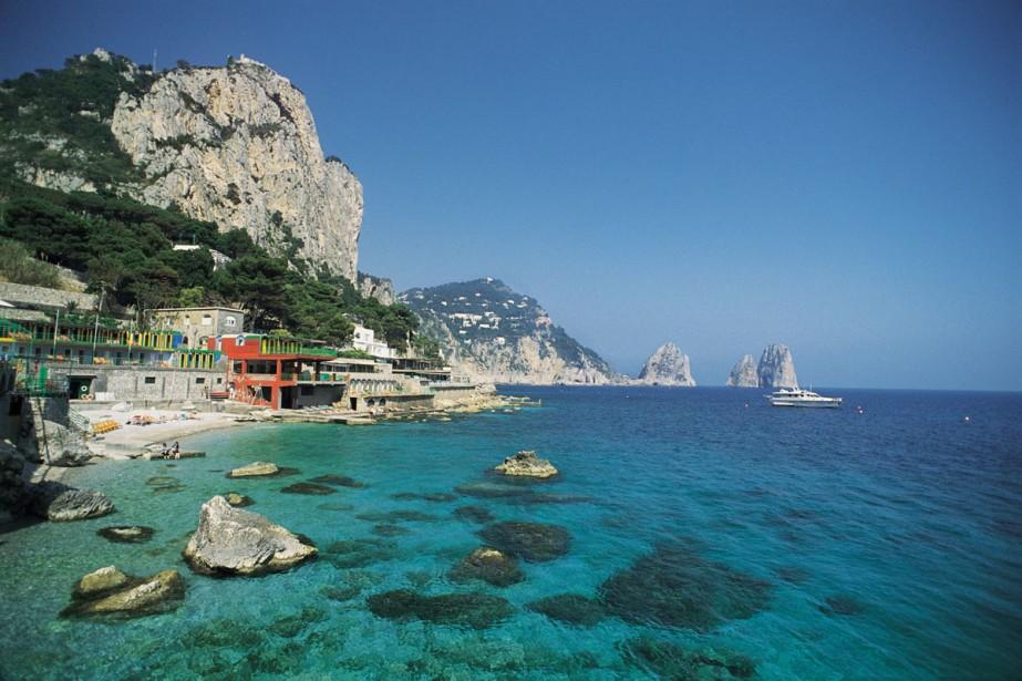Capri est au nombre des 178 villes italiennes... (Photo: archives AFP)