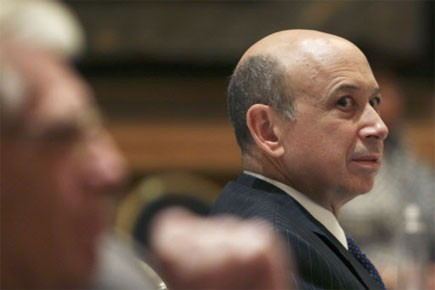 Le PDG de Goldman Sachs, Lloyd C. Blankfein... (Photo: Reuters)
