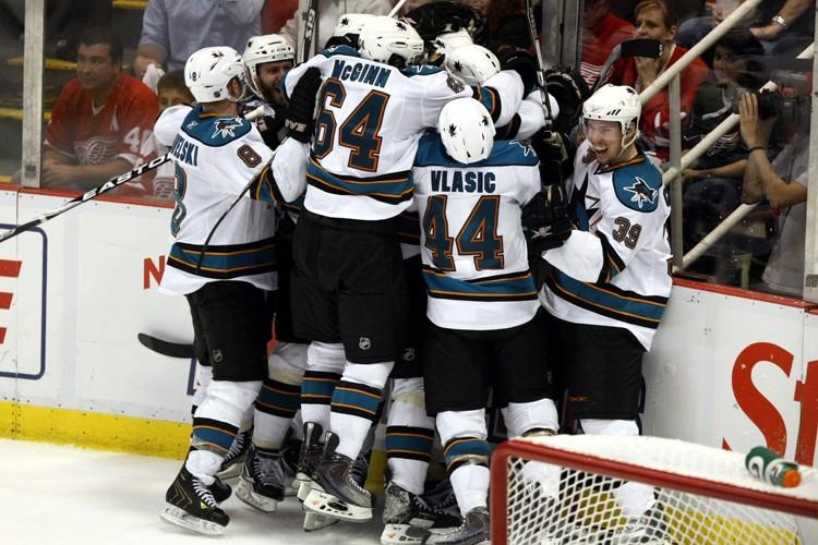 Les Sharks ont remporté chacun des trois premiers... (Photo: Reuters)