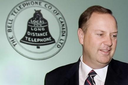 George Cope, président et chef de BCE.... (Photo d'archives PC)
